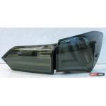 Toyota Corolla E170/ Altis оптика задняя LED черная / smoked LED taillights 2013+ - JunYan