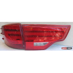 Toyota Highlander 2014 оптика Lexus стиль задняя LED красная/ Led taillights red XU50 Lexus style 2014+ - JunYan
