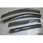 Toyota RAV 4 Mk4 2013- ветровики дефлекторы окон ASP с молдингом нержавеющей стали / sunvisors 2013+