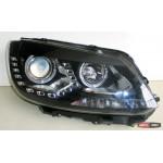Volkswagen Touran оптика передняя альтернативная ксенон/ headlights DRL 2013+ - JunYan