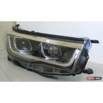 Toyota Highlander XU50 2014 оптика передняя тюнинг ДХО/ headlights DRL LED PW 2014+ - JunYan