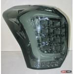 Subaru Forester SJ оптика задняя альтернативная ,фонари тюнинг диодные тонированный хром / LED taillights smoked chrome 2013+ - JunYan