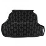 Коврик в багажник ZAZ FORZA седан 2011 черный 1 шт - Aileron