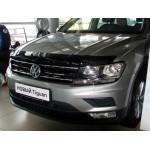 Дефлектор капота Volkswagen TIGUAN 2016- - SIM