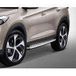 Пороги боковые Hyundai Tucson 2015- - AVTM