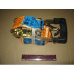 Стяжка вантажу, 3t. 50mm.x6m. (0.5 + 5.5) прогумований. ручка