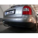 Фаркоп AUDI A4 (01-07) / SEAT Exeo (09-) седан,универсал и 4WD (QUATTRO) /подрез,модуль - Galia