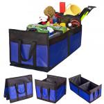 Органайзер в багажник Штурмовик 520х300х250мм синий