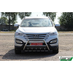 Кенгурятник Hyundai Santa Fe 2013+ - ST-Line