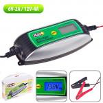 Зарядное устр-во PULSO BC-10640 6-12V/0.8-4.0A/1.2-120AHR/LCD/Импульсное