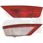 Фонарь задний Ford Focus II хетчбек 2008-2011 правый (задн. Ход) красно-белый - FPS