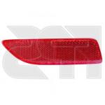 Фонарь задний Toyota Corolla 2010-2012 правый в бампере, пассивный (катафот) - FPS