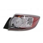 Отражатель задн. бампера Mazda 3 Hb 2009-2013 правый внешний LED - DEPO