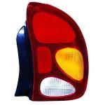Фонарь задний Daewoo Lanos 1996-/Zaz Sens 2002- правый вертикальный, желт.поворотн - DEPO