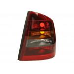 Фонарь задний Opel Astra G 1998-2012 правый дымчатый - DEPO