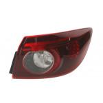 Фонарь задний Mazda 3 седан 2013- правый внешний LED - DEPO