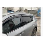рейлинги Mazda CX-5 2017- интегрированные серые - AVTM