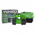 Компресор 7 Атм, 35 л / хв., 150Вт, LED ліхтар, підсвічування манометра - WINSO
