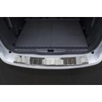 Peugeot 5008 2009-2017 / Накладка на задний бампер, полирован. - AVISA