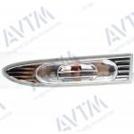 Указатель поворота Hyundai Accent 2006-2010 на крыле левый белый прозрачн. - AVTM