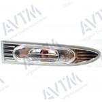 Указатель поворота Hyundai Accent 2006-2010 на крыле правый белый прозрачн. - AVTM
