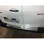 Peugeot Parthner 2008- Накладка на задний бампер - Carmos