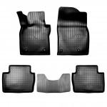 Ковры салона  Mazda 3 хетчбек 3D (19-) полиуретан комплект - NorPlast