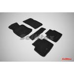 Ковры салона 3D ворс Infiniti Q70 2010- /Черные 5шт - Seintex