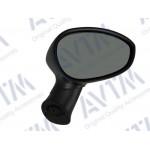 Зеркало боковое FIAT GRANDE PUNTO/LINEA 10.05- в сборе правое,электр.,выпукл.,обогрев.,+ датч.тем-ры - AVTM