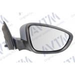 Зеркало боковое VW JETTA VI 04.10-09.14 в сборе, правое,электр., выпуклое + обогрев под покрас. элек - AVTM