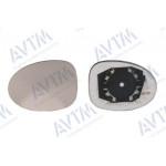 Вкладыш зерк бок SEAT EXEO 08-11/IBIZA 09-16/LEON 09-12 правый, выпукл, с подогр, - AVTM