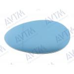Вкладыш зерк бок ALFA ROMEO 156 09.97-05.06 левый, асферич, с подогр, голуб.стекло, - AVTM