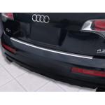 Audi Q7 2006-2015 / Накладка на задний бампер, полирован. - AVISA