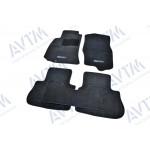 Ковры салона ворс Infiniti FX35/45 (2003-2008) /Чёрные Premium - AVTM
