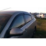 Ветровики для Nissan Almera (G11) седан 2012