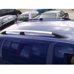 Рейлинги Peugeot Partner 1996-2008 /Хром /Abs/крепление метиз - CAN