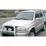 Ветровики для Suzuki Grand Vitara I 5d 1998-2005 накл.деф.окон Cobra-Tuning