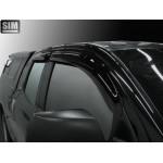 Дефлекторы окон для Тойота Tundra Double Cab, 07-, 4ч. - SIM