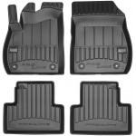 Резиновые коврики Frogum Proline 3D для Opel Zafira Tourer C (mkIII)(1-2 ряд) 2011-2019