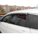 Дефлектори вікон Subaru Legasy 2015 -> З Хром молдинги - HIC