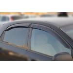 Ветровики для Chevrolet Lacetti хетчбек 2003 накл.деф.окон Cobra-Tuning