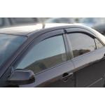 Ветровики для Mazda 6 I седан 2002-2007 накл.деф.окон Cobra-Tuning