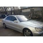 Ветровики для Mercedes Benz S-klasse (W220) Long 1998-2005 накл.деф.окон Cobra-Tuning