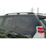 Рейлинги Toyota Land Cruiser Prado 150 2009- Черные усиленные - AVTM