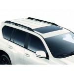 рейлинги Toyota Land Cruiser Prado 150 2017- Черные усиленные - AVTM
