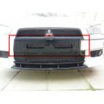 Mitsubishi Lancer X (2007-) / Ноздри в передний бампер (с сеткой) - AVTM
