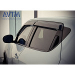 Дефлекторы окон Nissan Juke 2012-, H08001KA00 - AVTM
