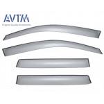 Дефлекторы окон Mitsubishi Outlander XL 2007- - AVTM
