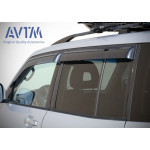 Дефлекторы окон Mitsubishi Pajero Wagon (широкие) 2000-2006 - - AVTM