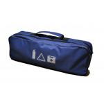 Сумка органайзер (пустая) - синий (2 отдела 52,6х13,2х18,6 см) - AVTM